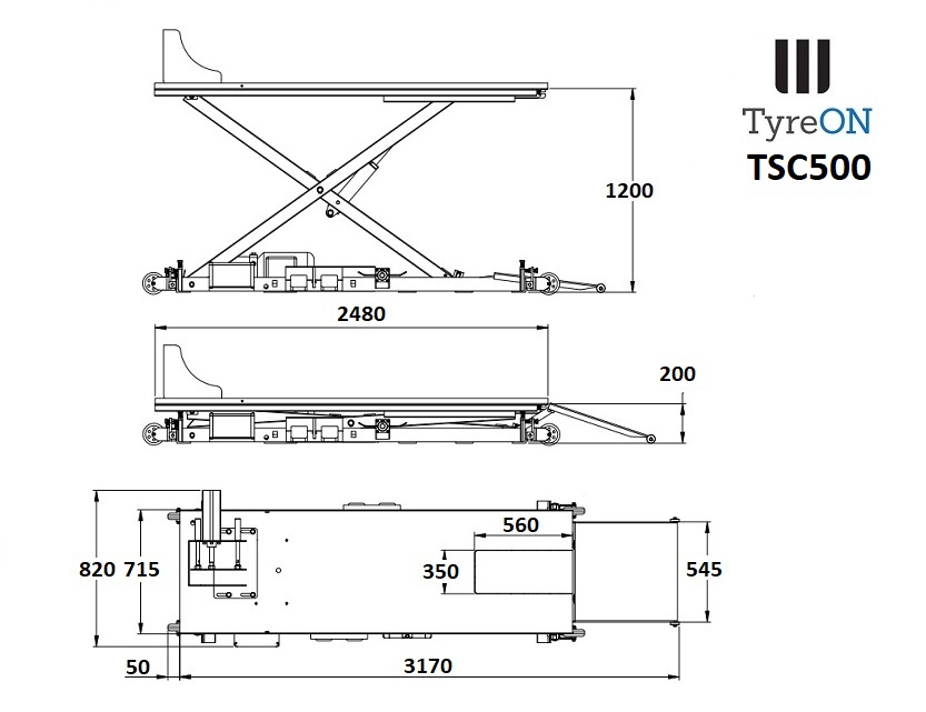 The Techniques Of Tyreon Tsc500 Motorcycle Lift